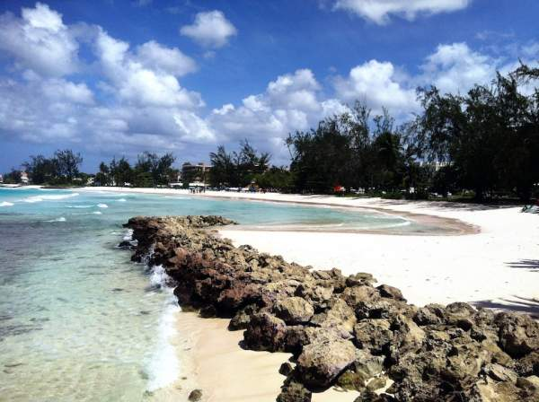 Kid friendly bay at Accra Beach Barbados by RT Photography